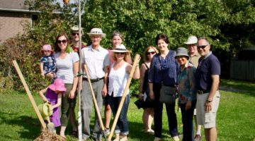 The Bahai community helping green Fergus